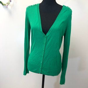 5/$20 Charming Charlies Green Cardigan